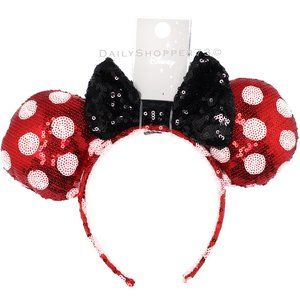 Sparkly Sequin Minnie Mouse Ears